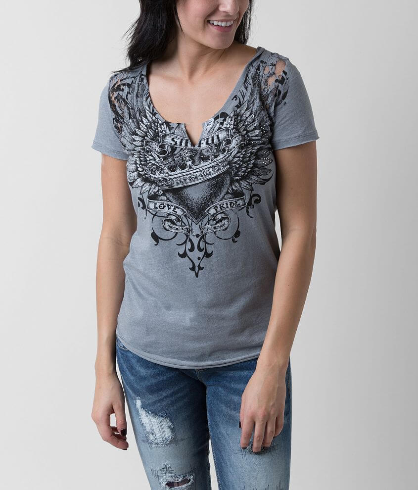 Affliction Fervence T-Shirt front view