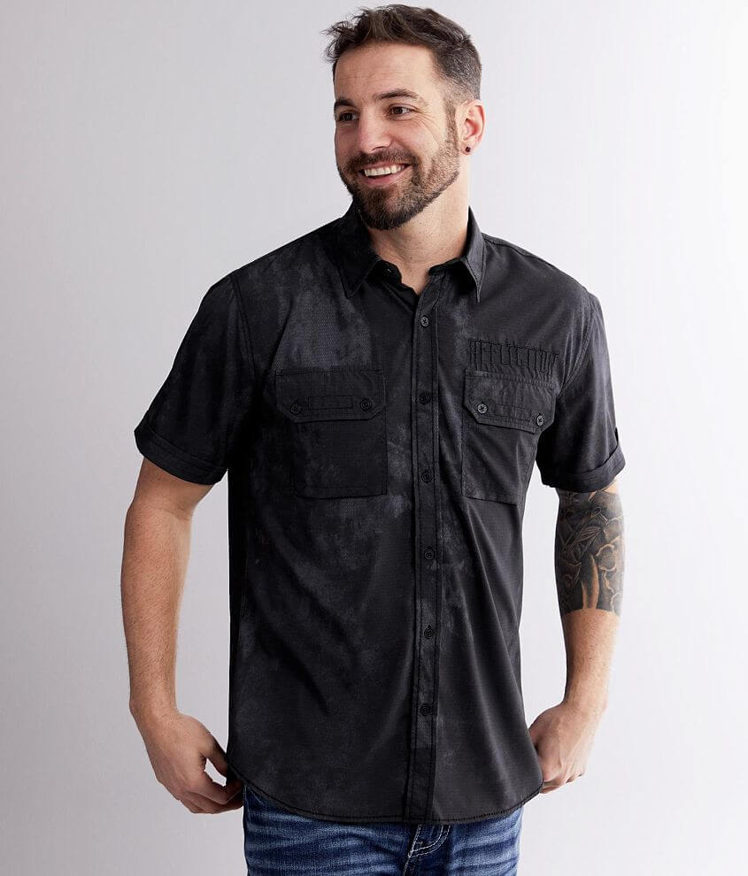 Affliction Ritual Stretch Shirt front view