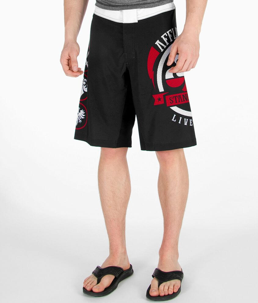 Affliction Hydrocore Shelter Boardshort front view