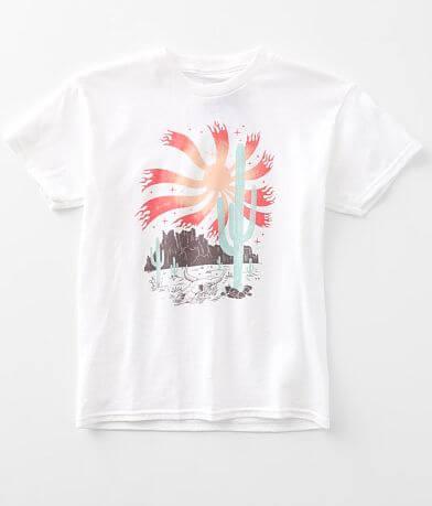 Girls - American Highway Desert Scene T-Shirt