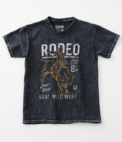 Girls - American Highway Wild West Rodeo T-Shirt