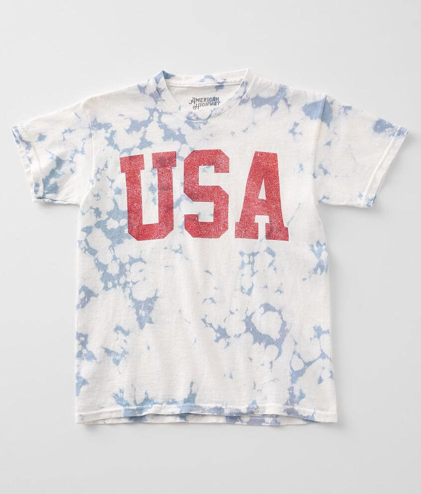 Girls - American Highway USA T-Shirt front view