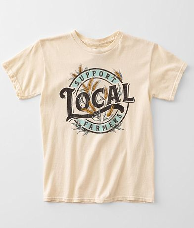 Girls - American Highway Support Farmers T-Shirt
