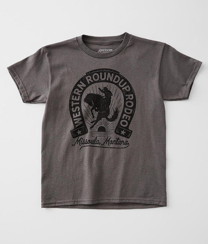 Girls - American Highway Roundup Rodeo T-Shirt front view