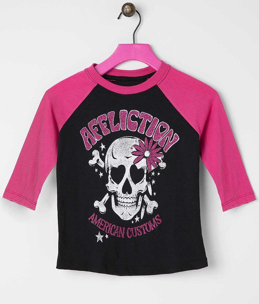 Girls - Affliction Mezcal T-Shirt front view