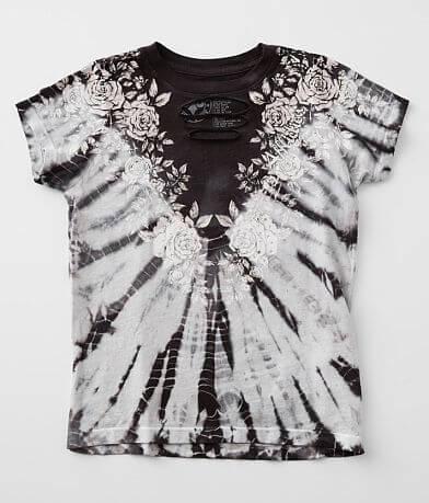 Girls - Affliction Rose Vine T-Shirt