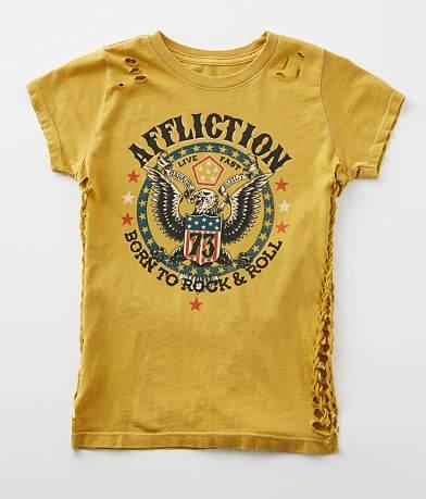 Girls - Affliction Born To Rock & Roll T-Shirt