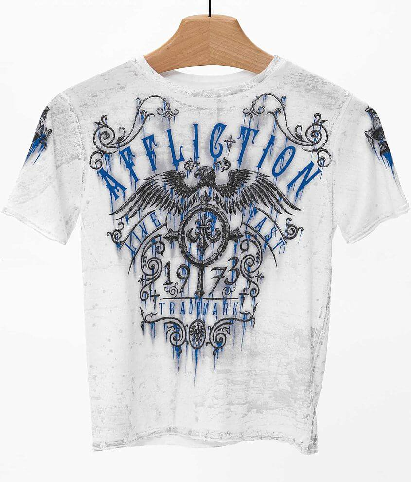 Boys - Affliction Condemned T-Shirt front view