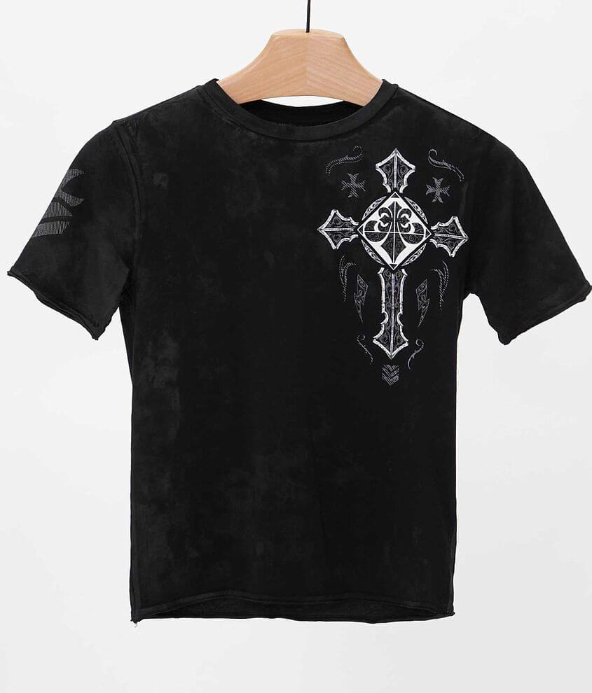 9ac1bf2e Boys - Affliction Bolt Thrower T-Shirt - Boy's T-Shirts in Black ...