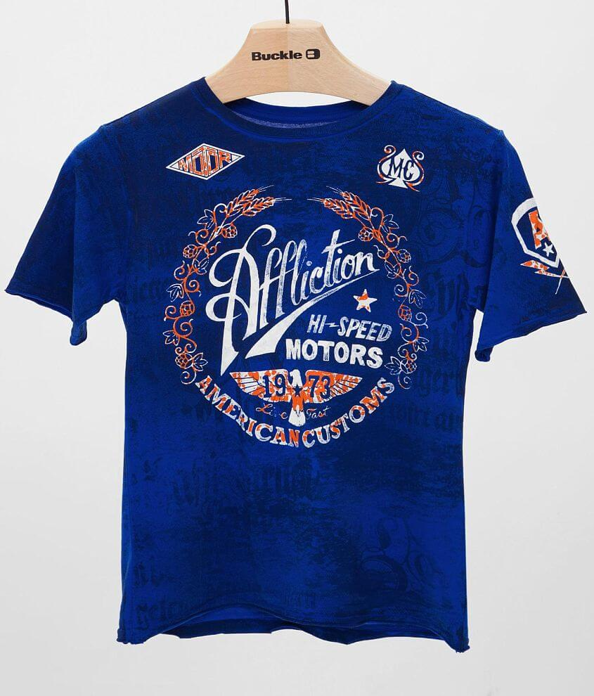 Boys - Affliction Fast Times T-Shirt front view
