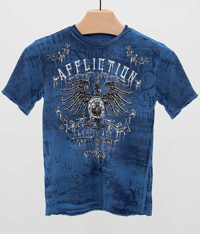 Boys - Affliction Secure T-Shirt front view