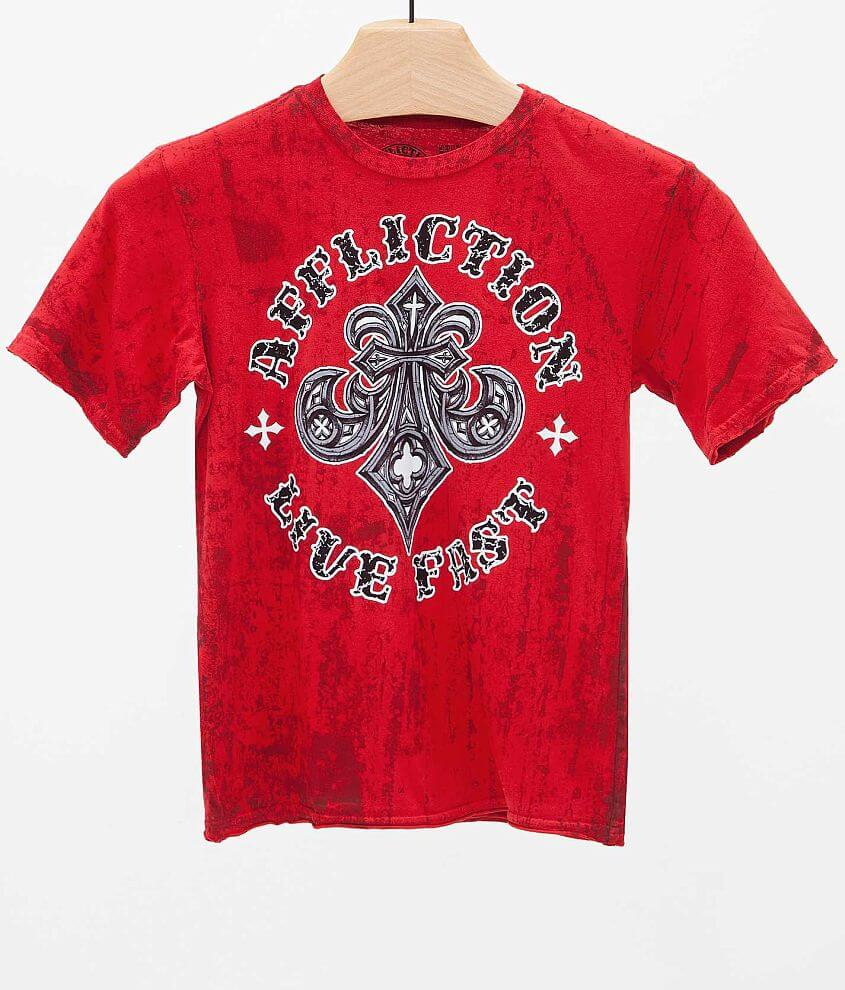 Boys - Affliction Royale T-Shirt front view