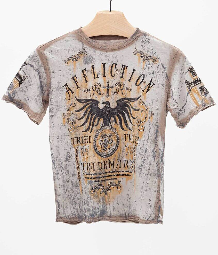 Boys - Affliction Tried T-Shirt front view
