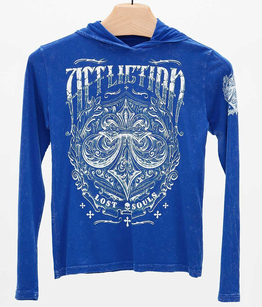 Boys - Affliction Science Hoodie front view