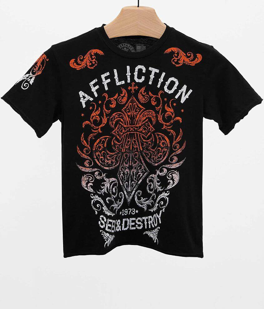 Boys - Affliction Signify T-Shirt front view