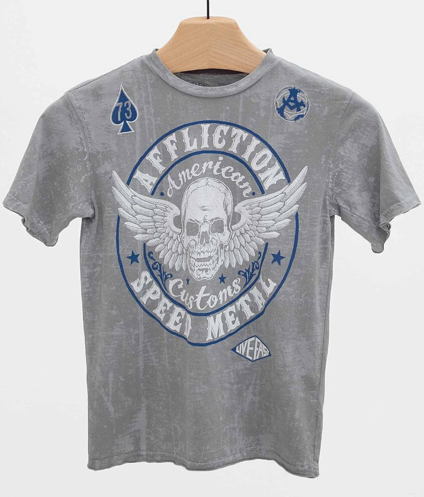 Boys - Affliction Syndicate T-Shirt front view