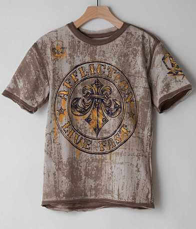 Boys - Affliction Divio Rusted T-Shirt