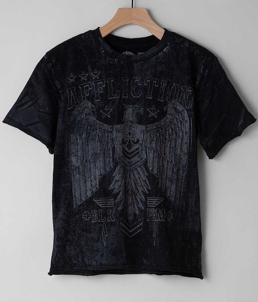 Boys - Affliction Disjointed T-Shirt front view