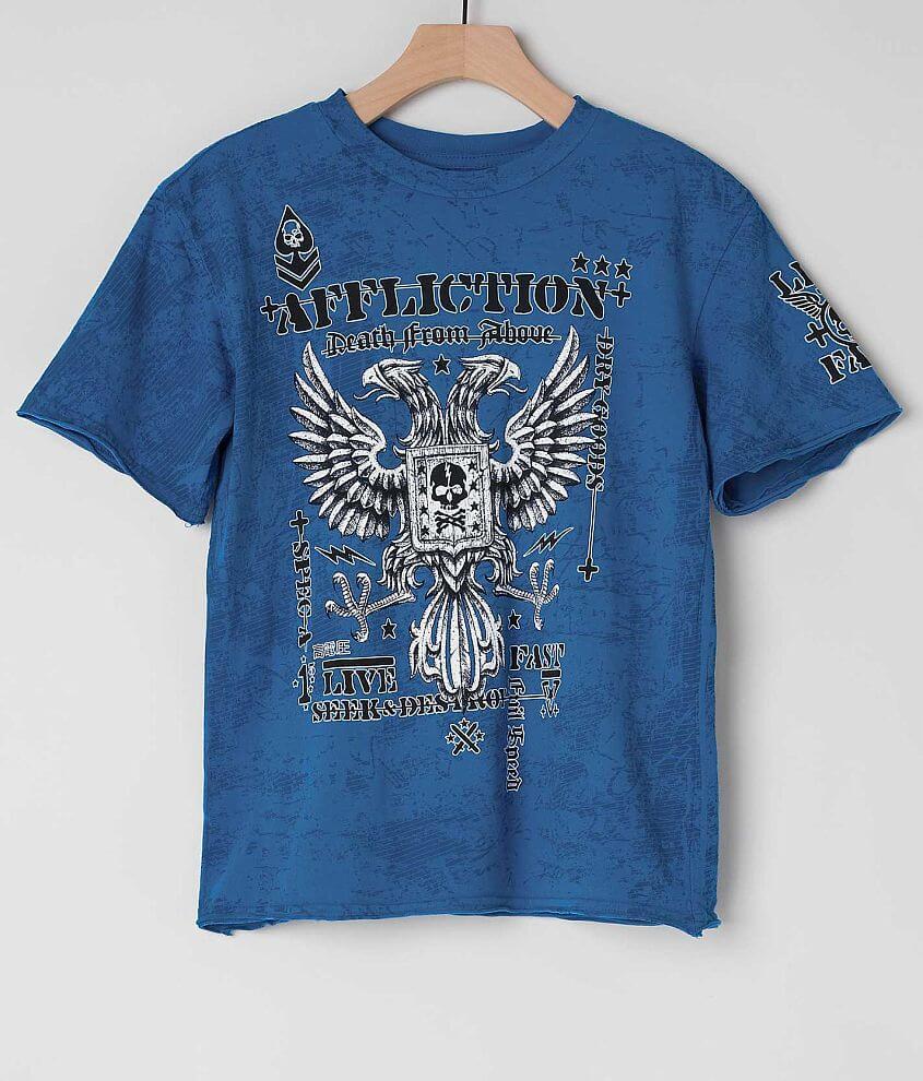 Boys - Affliction Warhawk T-Shirt front view