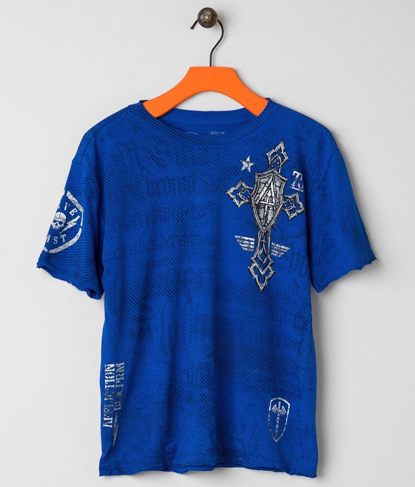 Boys - Affliction Live Fast Prime T-Shirt front view