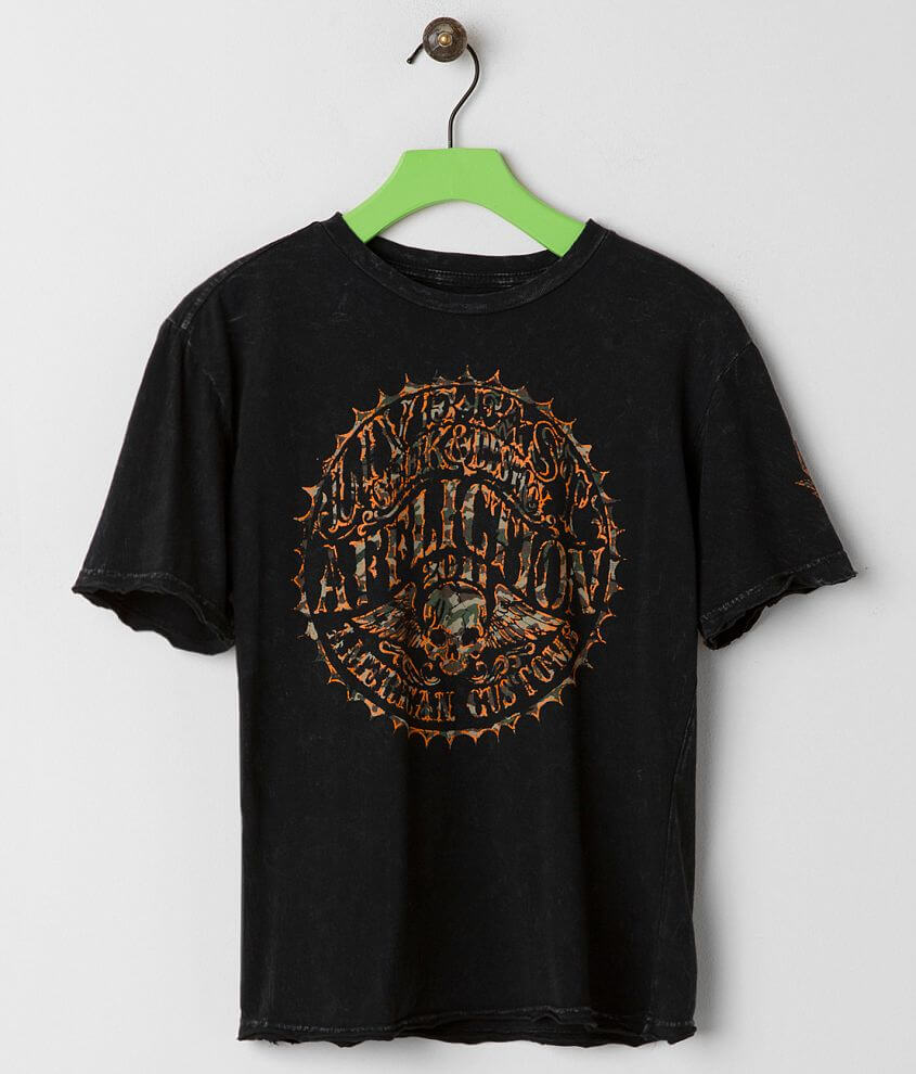 Boys - Affliction Sacred Seal T-Shirt front view