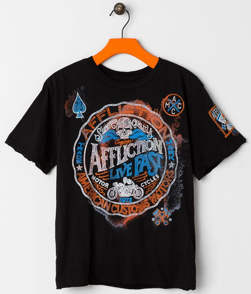 Boys - Affliction Superior T-Shirt front view