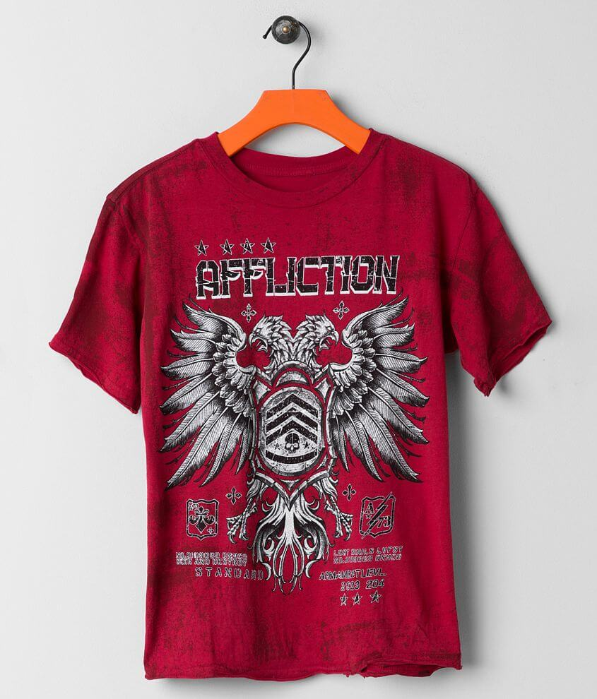 Boys - Affliction Coaxial T-Shirt front view