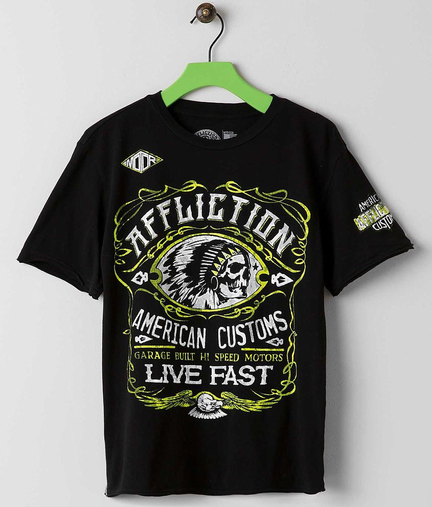Boys - Affliction Moonshine T-Shirt front view