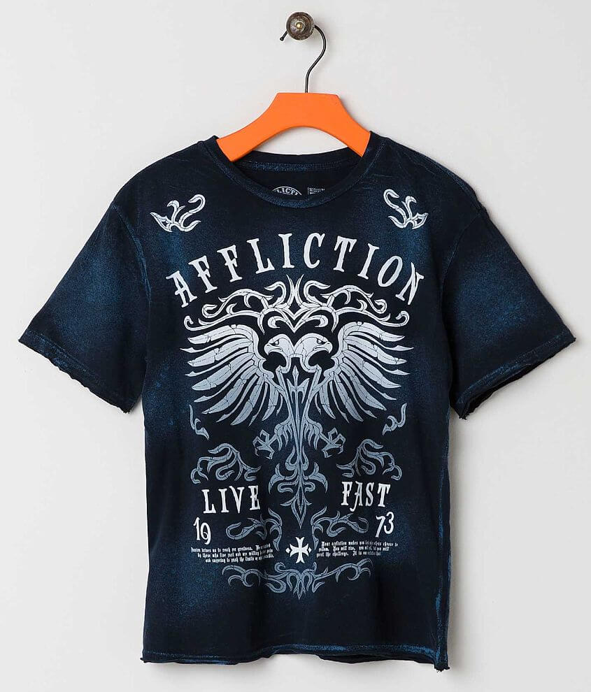 Boys - Affliction Dark Ages T-Shirt front view