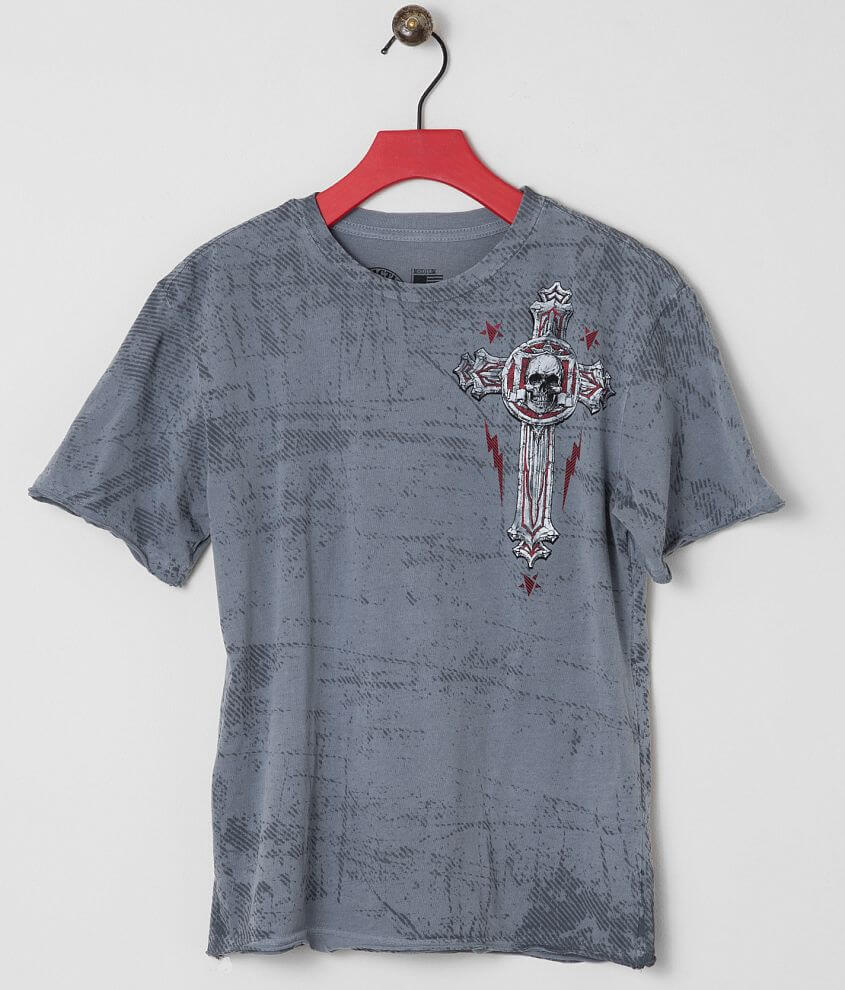 Boys - Affliction Repost T-Shirt front view