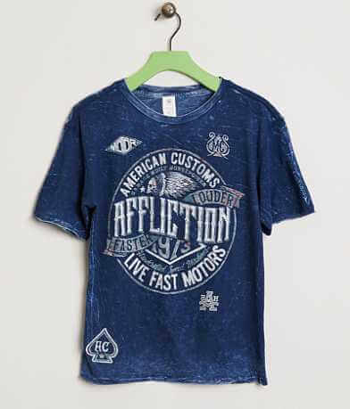 Boys - Affliction American Customs Crude T-Shirt