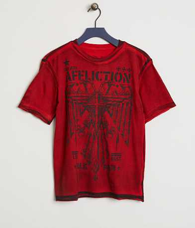 Boys - Affliction Silent Eagle T-Shirt