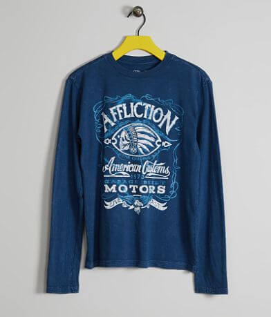 Boys - Affliction Prohibition Oil T-Shirt
