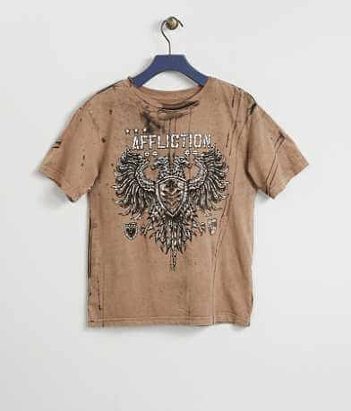 Boys - Affliction Value Chalkboard T-Shirt