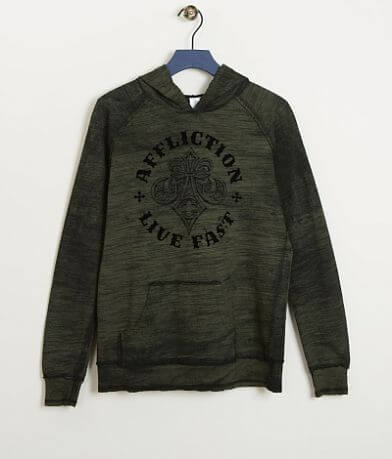 Boys - Affliction Royale Reversible Sweatshirt