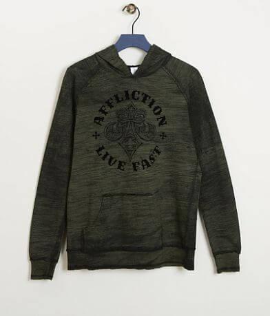 Boys - Affliction Royale Reversible Sweatshirt
