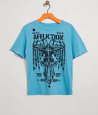 Boys - Affliction Silent Eagle T-Shirt