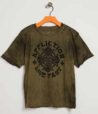 Boys - Affliction Battlefront T-Shirt