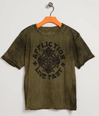 Boys - Affliction Battlefront T-Shirt