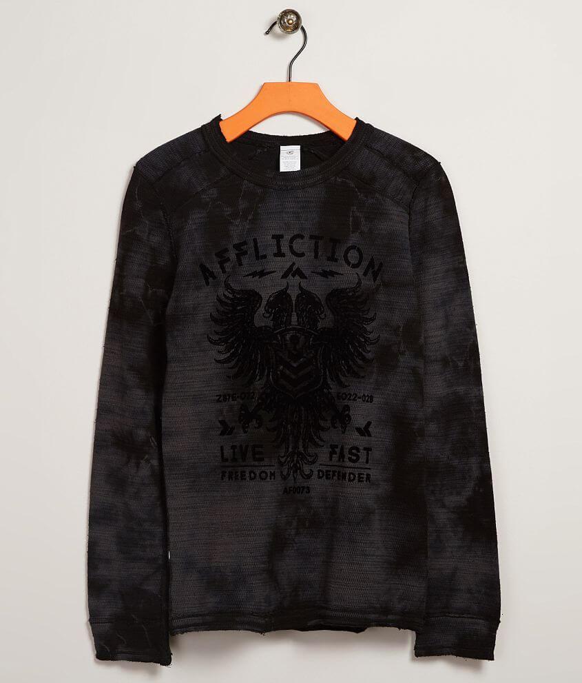 679eddf6c77 Boys - Affliction American Customs Thermal T-Shirt - Boy s T-Shirts ...