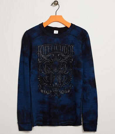 Boys - Affliction Hypothesis Thermal T-Shirt