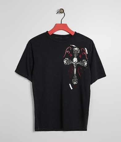Boys - Affliction Live Fast Engine T-Shirt
