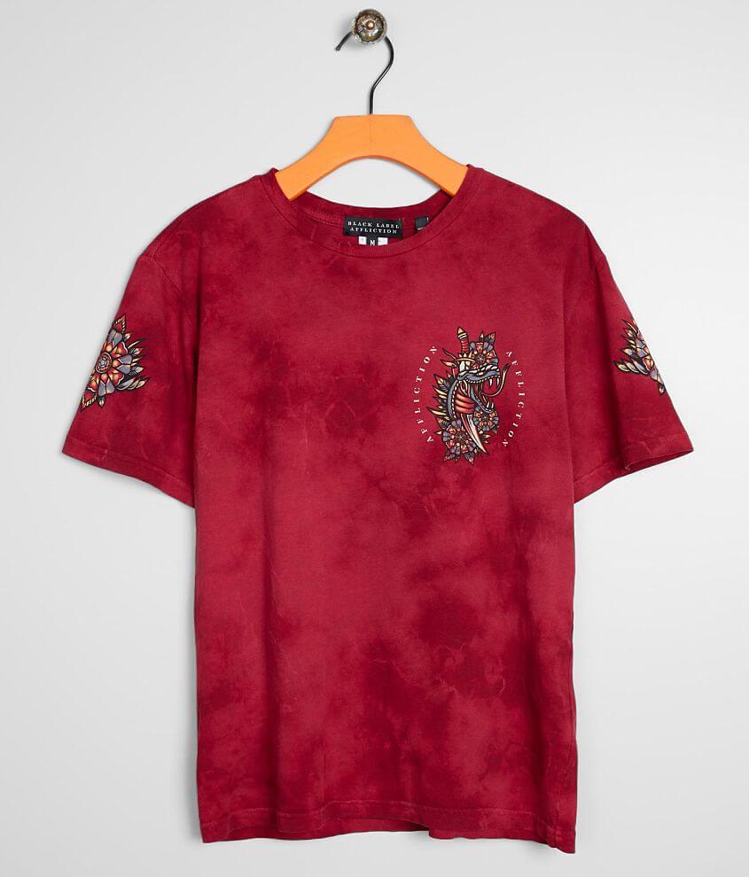 Boys - Affliction Serpent Ritual T-Shirt front view