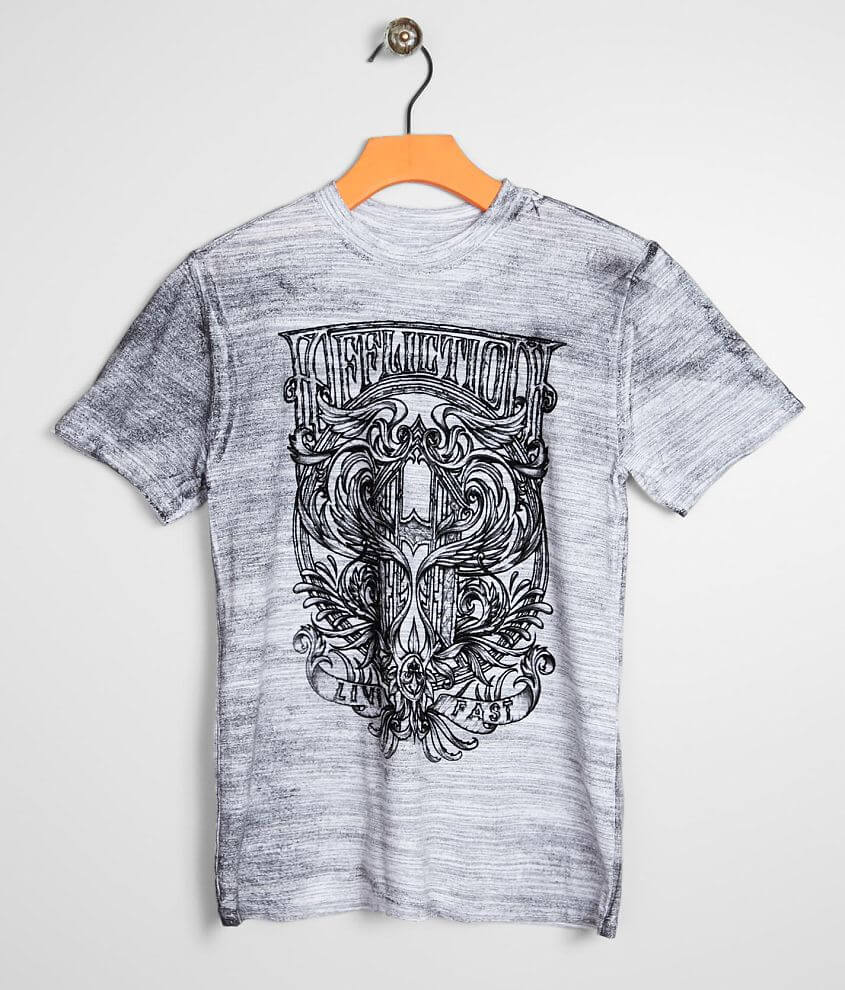 Boys - Affliction Hypothesis T-Shirt front view