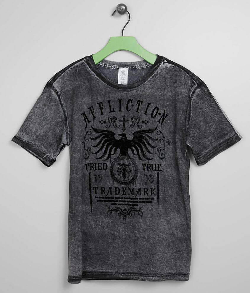 Boys - Affliction Tried Dusk T-Shirt front view