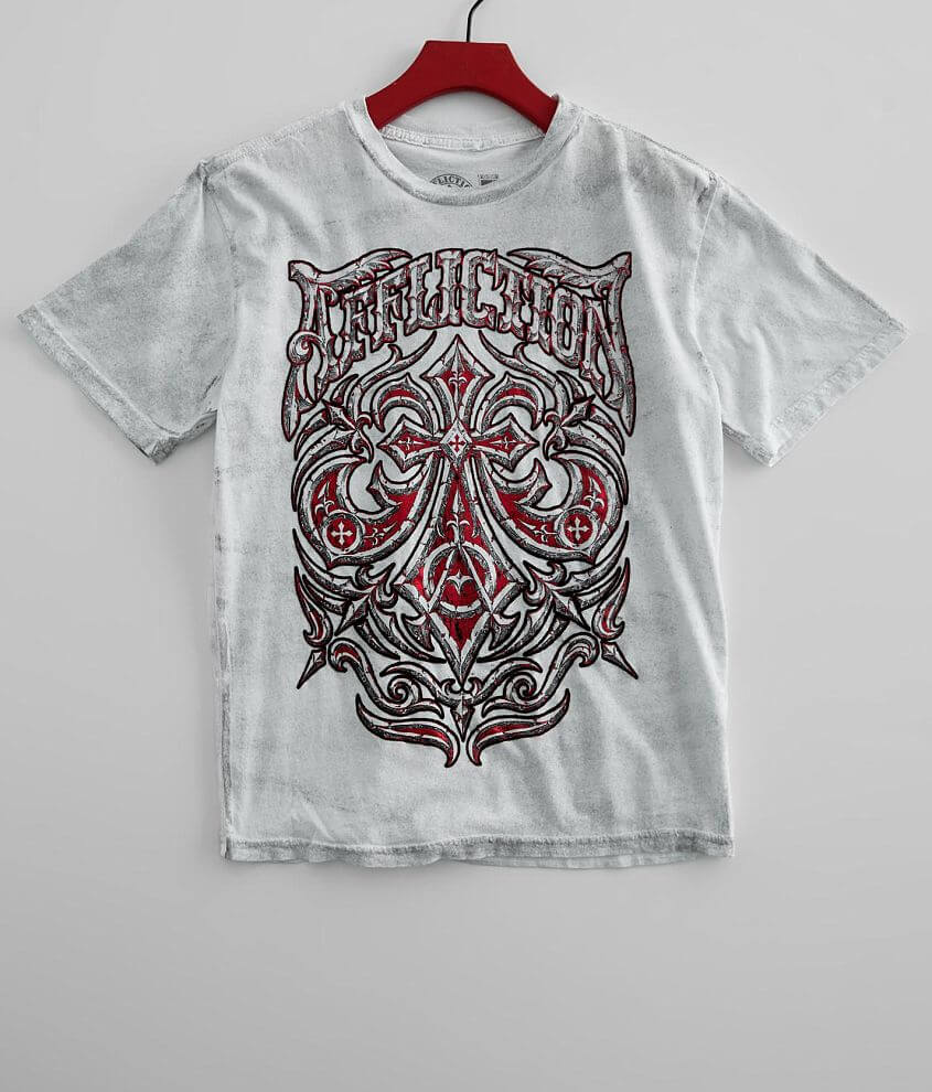 Boys - Affliction Midnight Dirge T-Shirt front view