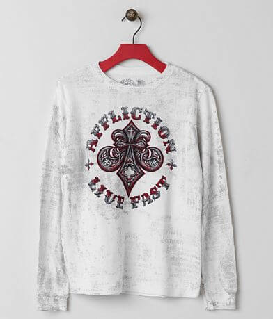 Boys - Affliction Royal Connect Thermal Shirt