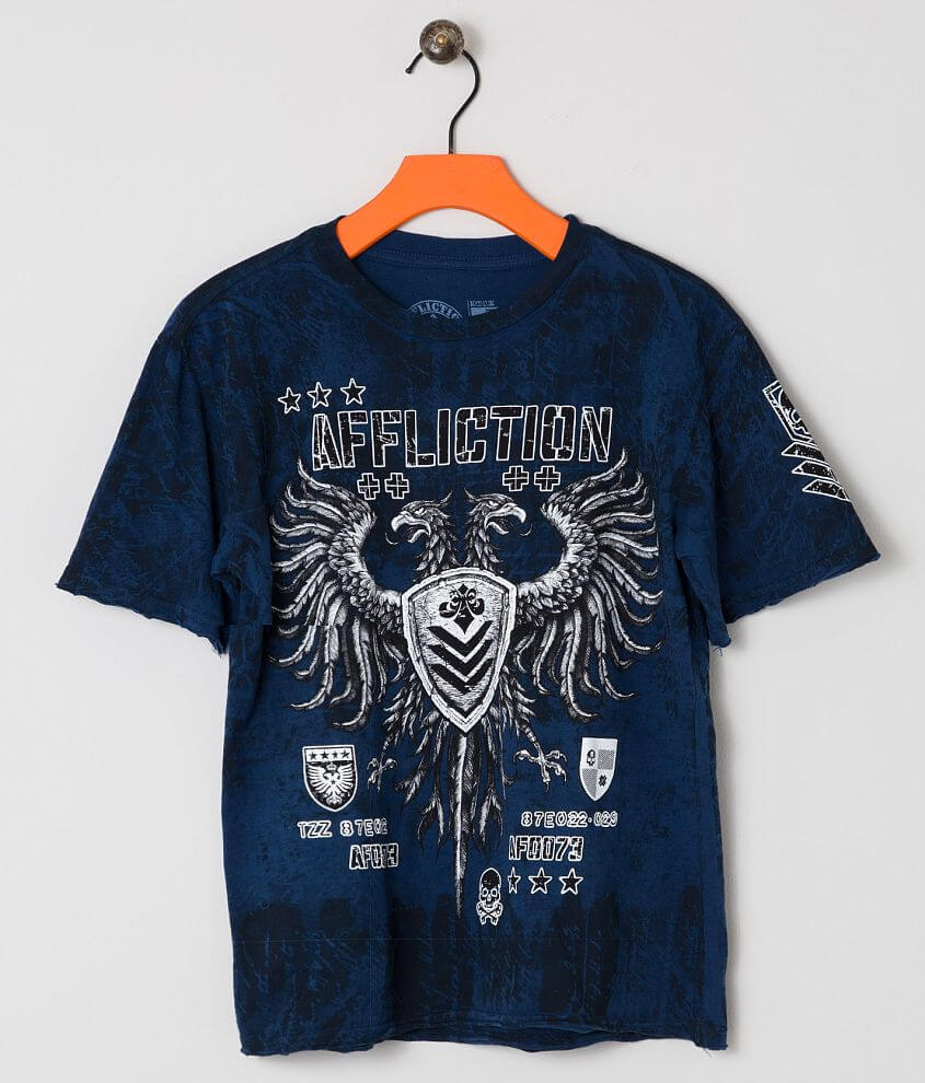 Boys - Affliction Value T-Shirt front view
