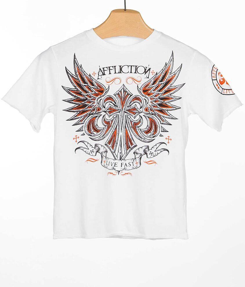 Boys - Affliction Vibration T-Shirt front view