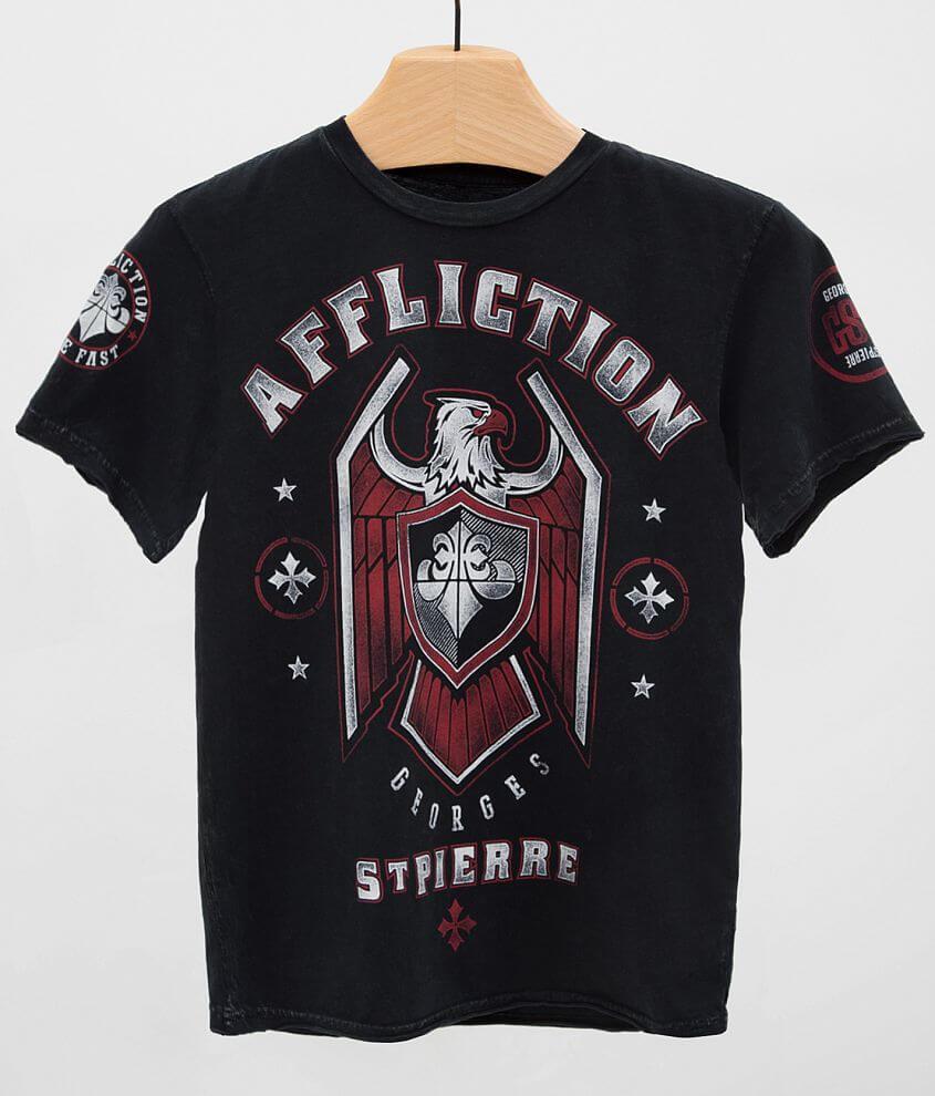 Boys - Affliction Royal Guard T-Shirt front view